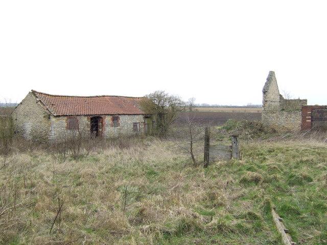 Ruined farm buildings