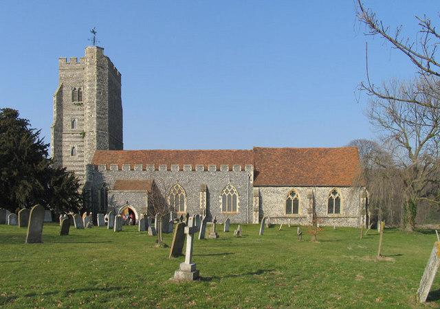 St Mary, Newington, Kent