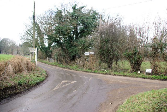 Bunker's Hill Road and Rectory Road