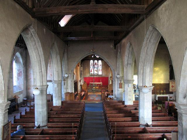 St Mary, Newington, Kent - East end