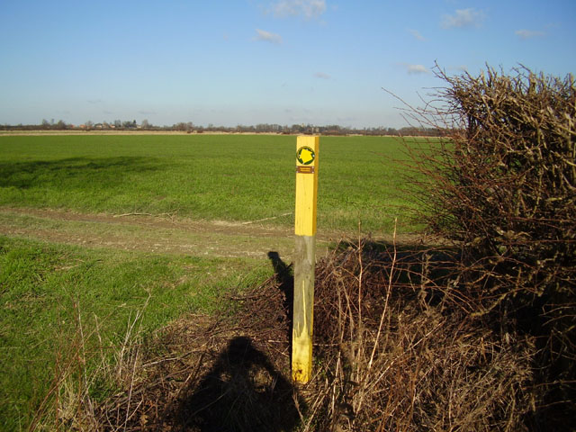 Footpath F65 Bottesford to Kilvington