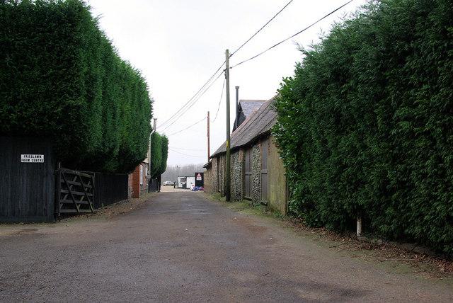 Entrance to Frieslawn Farm Centre