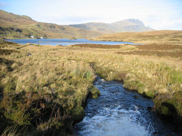 South of Loch Fada