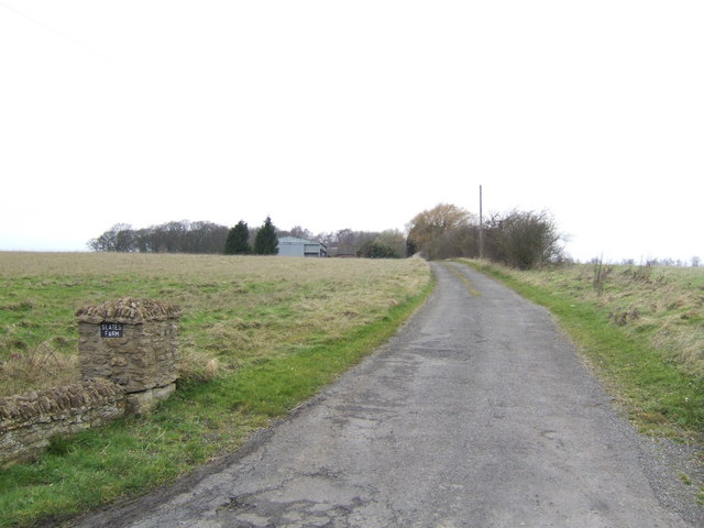 Track to Slates Farm