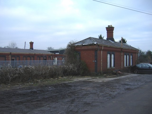 Badminton railway station