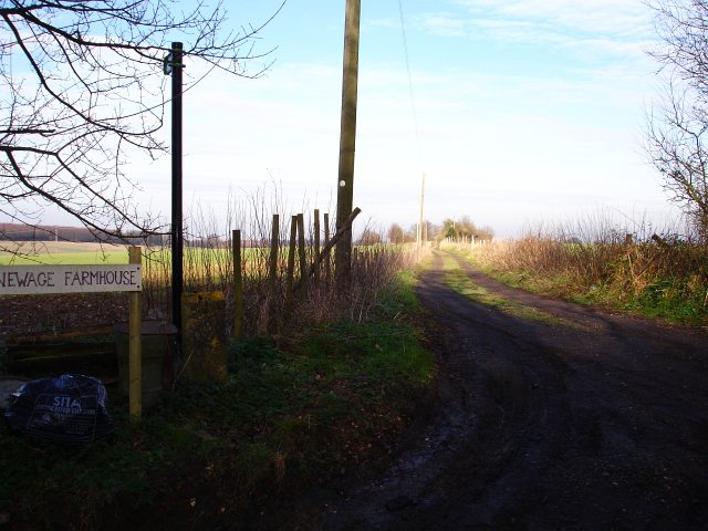 Track to Newage Farm