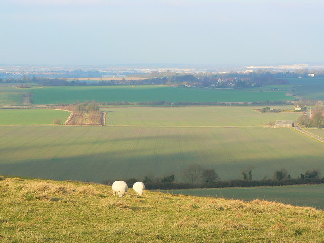 View north from Barbury