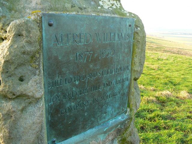 Richard Jefferies/Alfred Williams memorial stone
