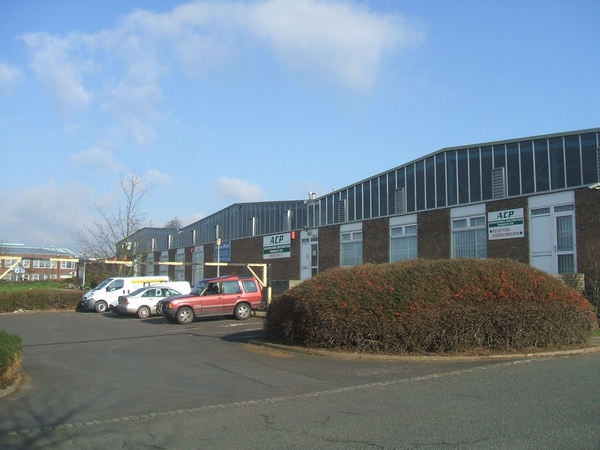 Factory units in Stafford Park 11