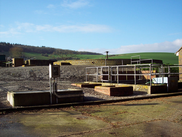 Sewage Works between South Newton Mill and Custom Bottom
