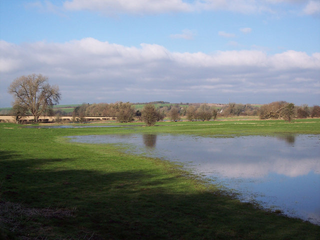 Flooding in the Wylye Valley