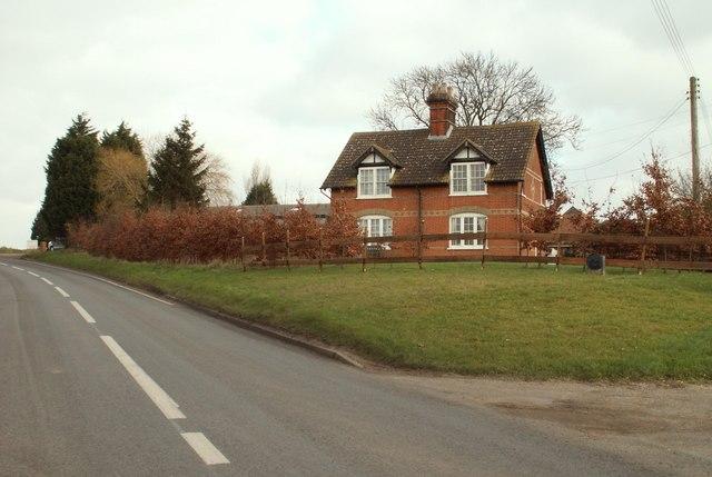 Farmhouse at Akenham Hall Farm