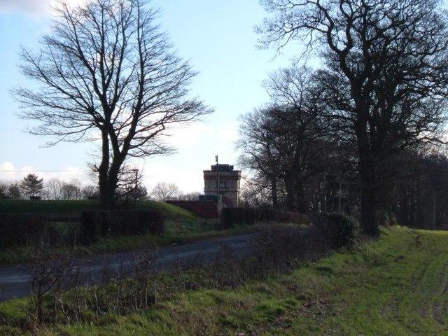 Water Tower at Swynnerton