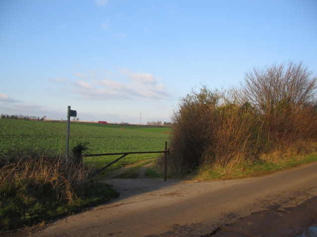 Public bridleway near the M4