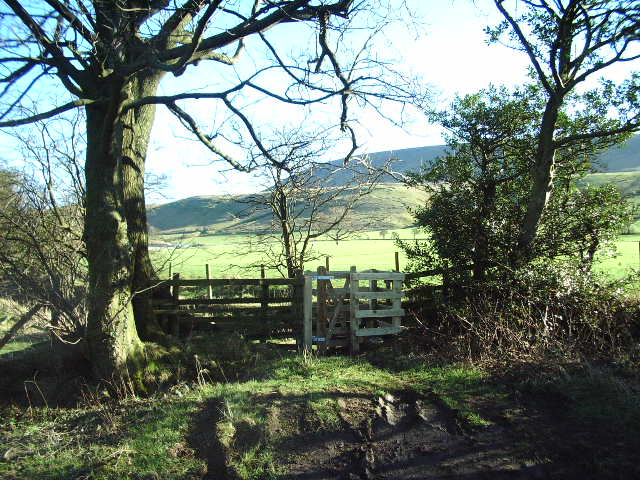 New gate for the Footpath