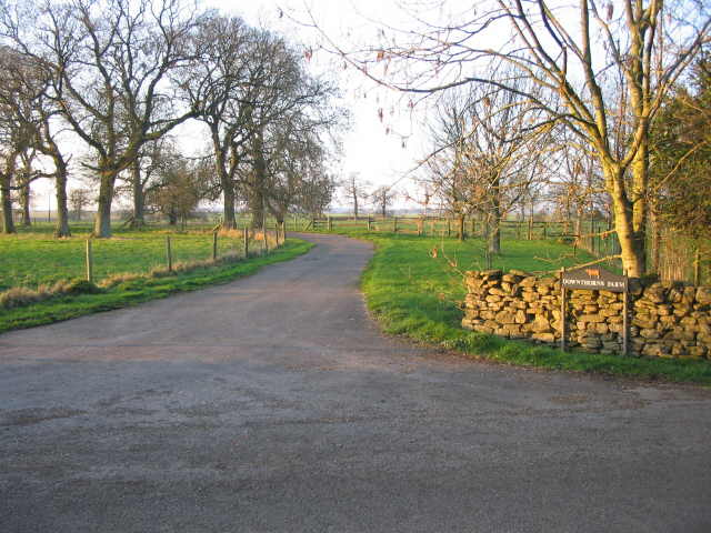 Entrance to Downthorns Farm