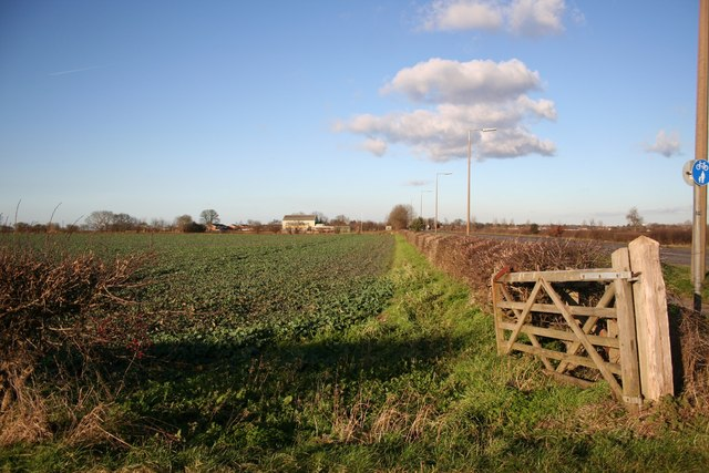 Farmland near Waddington