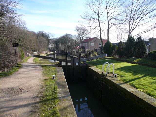 Chesterfield Canal - Turnerwood Lock