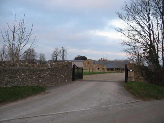 Entrance to Calder House School