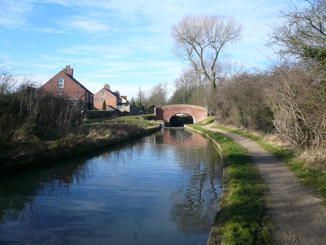 Chesterfield Canal - Bridge at Cinderhill Lock No 41