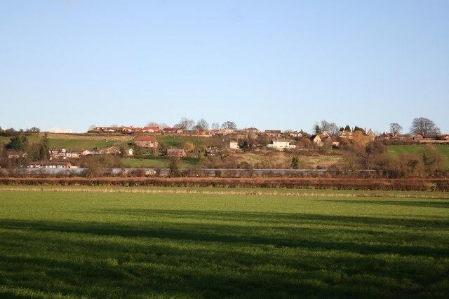 Waddington from Somerton Gate Lane