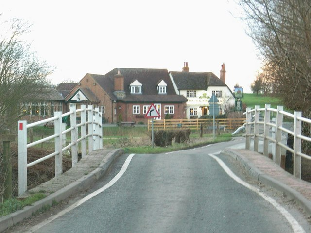 Two bridges to the Old Fishermans Arms