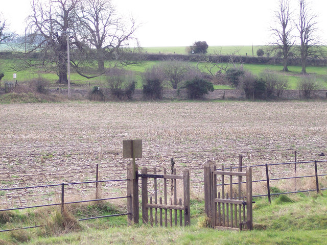 Looking across to the railway from St Nicholas Churchyard