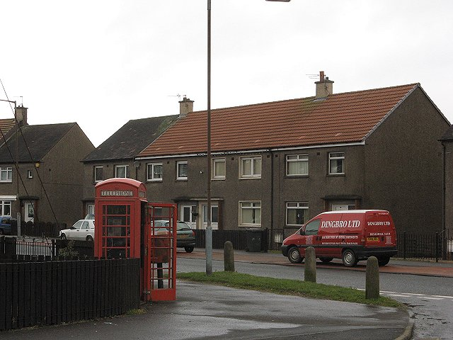 Phone box, Bon Accord Crescent