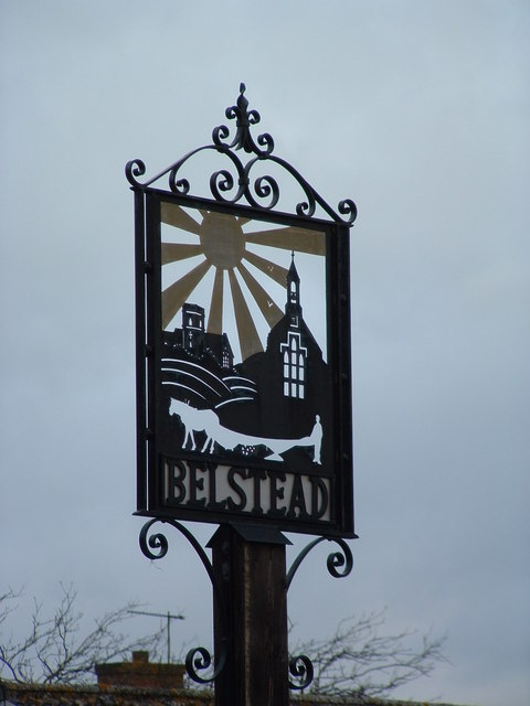 Belstead Village Sign