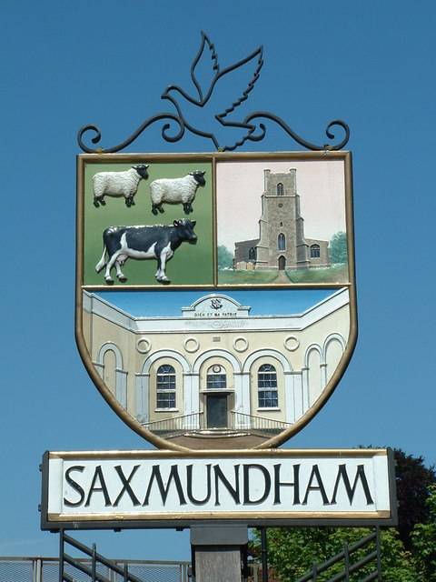 Saxmundham Village Sign