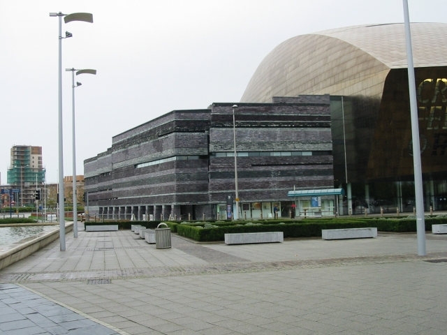 Northern end of Millennium Centre
