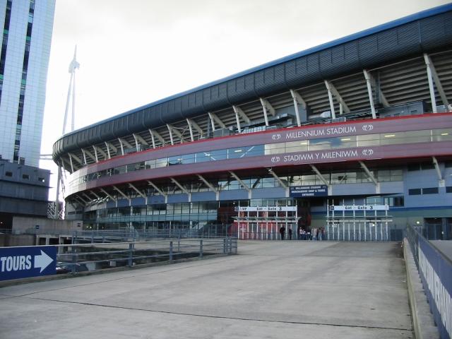 Millennium Stadium and concourse