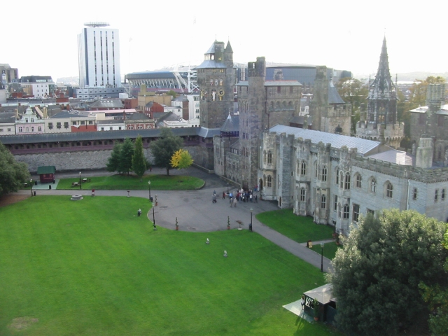 Cardiff Castle and grounds