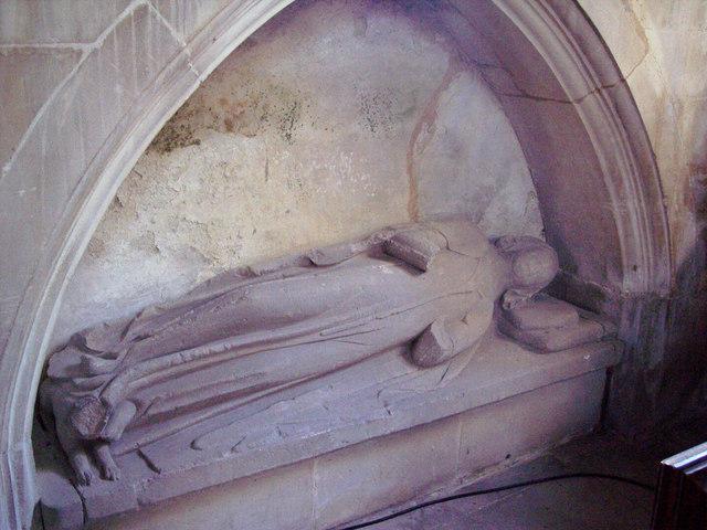 Recumbent Stone Figure