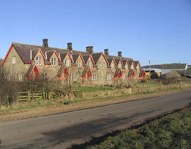 Houses at New Bewick Farm