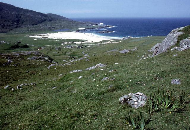 The flank of Beinn na Moine