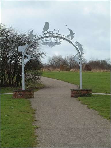 Metal Gateway - Sculpture by Phillip Hardaker