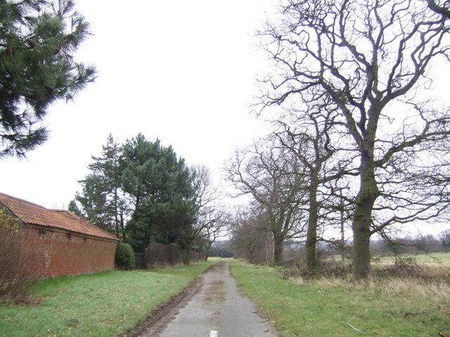 Abandoned lane