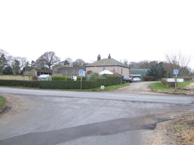 Moortown House junction
