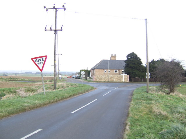 Junction on the B1208