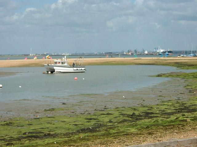 Calshot Marsh Sandbank