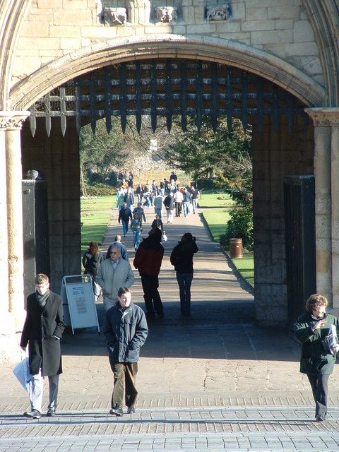 Through The Abbey Gate