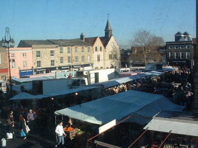 Saturday Market Bury St.Edmunds