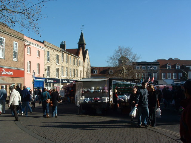 Saturday Market Bury St.Edmunds