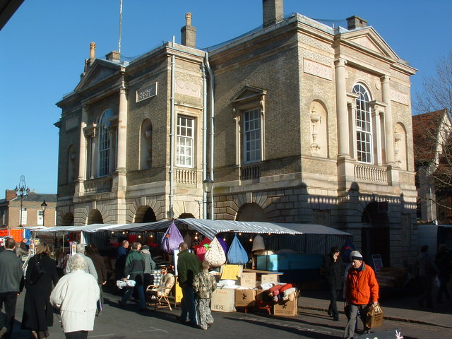 Market And Market Cross, Bury St. Edmunds
