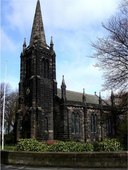 Holy Trinity Church, Bickerstaffe, Lancs
