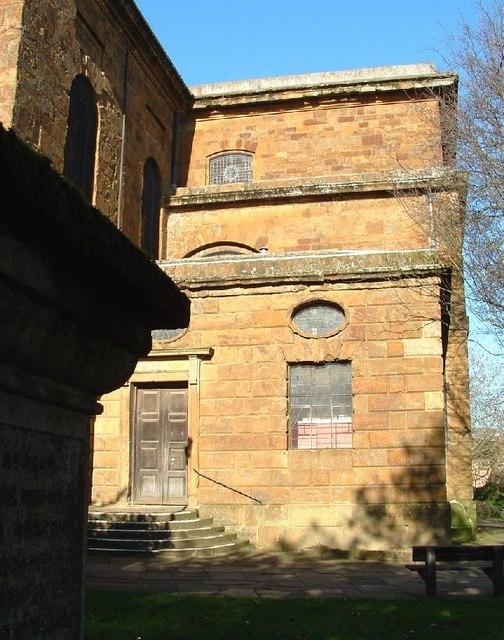 Rear of St. Mary's Church