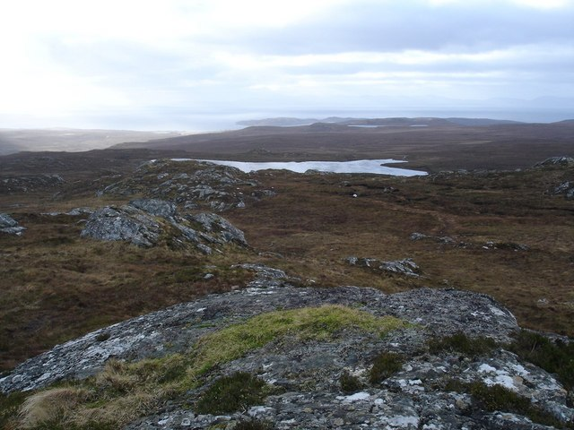 View to Lochan Sgeireach