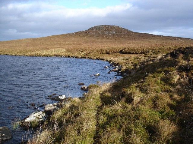 Southern shore of Loch an Iasgair