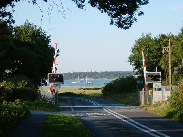 Level Crossing in Frost Lane